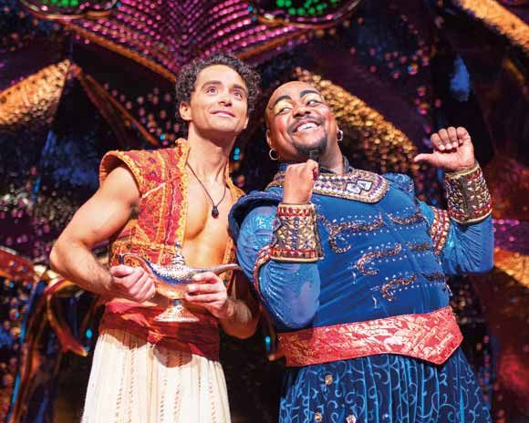 Disney's Aladdin at the Prince Edward Theatre
